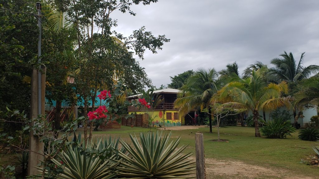Colorful Houses in Hopkins Village, Belize