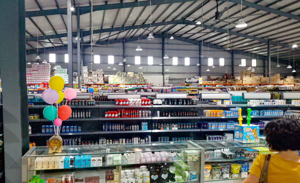 Big grocery store in Belize